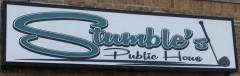 stumbles sign